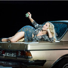 Justina Gringyte (Carmen) in Bizet's CARMEN at the London Coliseum. Photo by Alastair Muir